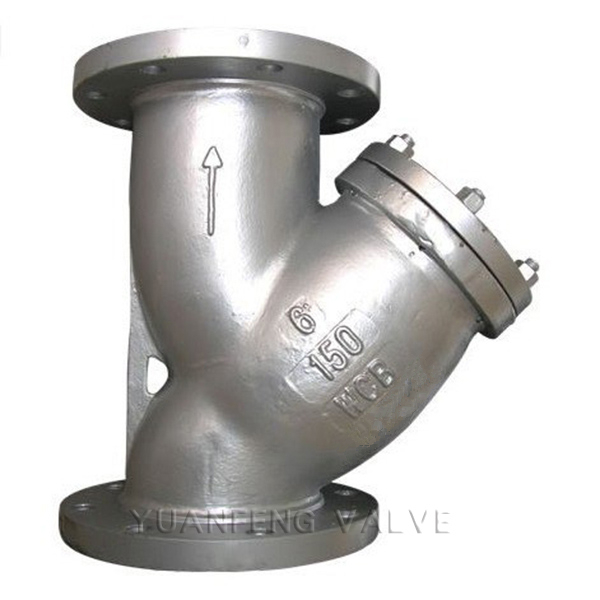 Stainless Steel Flanged Y-Strainer
