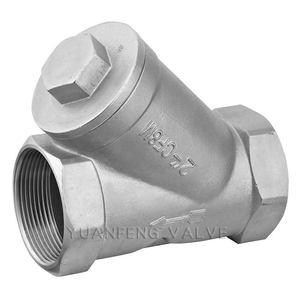 Stainless Steel Screw Thread Y-Strainer