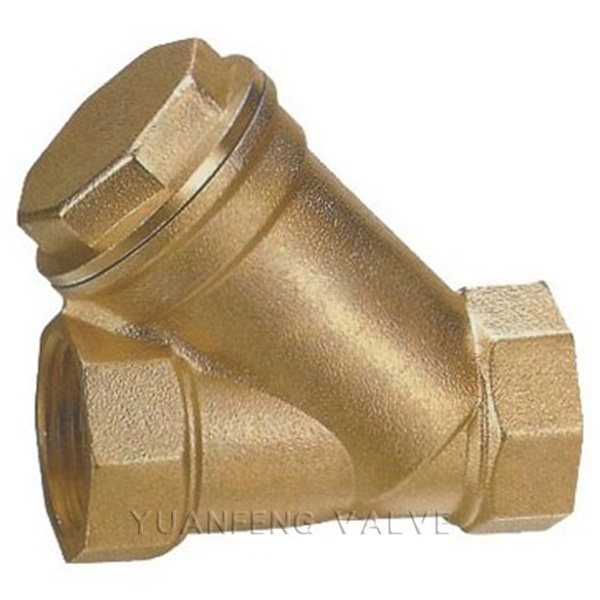 Brass/Bronze Screw Thread Y-Strainer