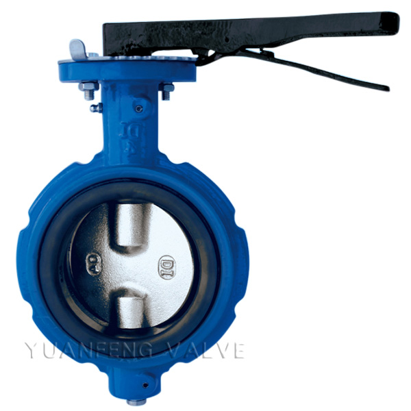 Notched Body Wafer Type Butterfly Valve