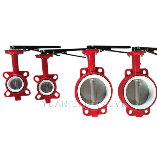 CI / DI Body With PTFE Seat Butterfly Valve