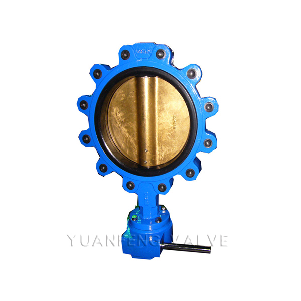 Al-Bronze Disc Lug Type Butterfly Valve